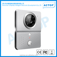 ACTOP 2014 hot sale new arrival video intercom wifi smart home products