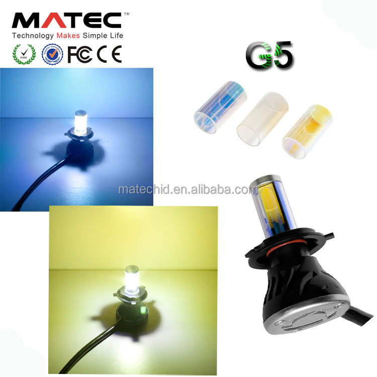 All in one led headlight bulbs for car , led auto headlight for suv from Guangzhou auto part Matec