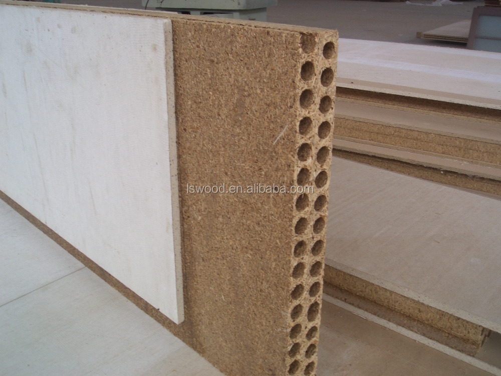 Hollow Particleboards /Tubular Core Chipboard for Door Making
