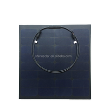 small size light weight 50w clay roof tile solar panel with low price direct from shenzhen