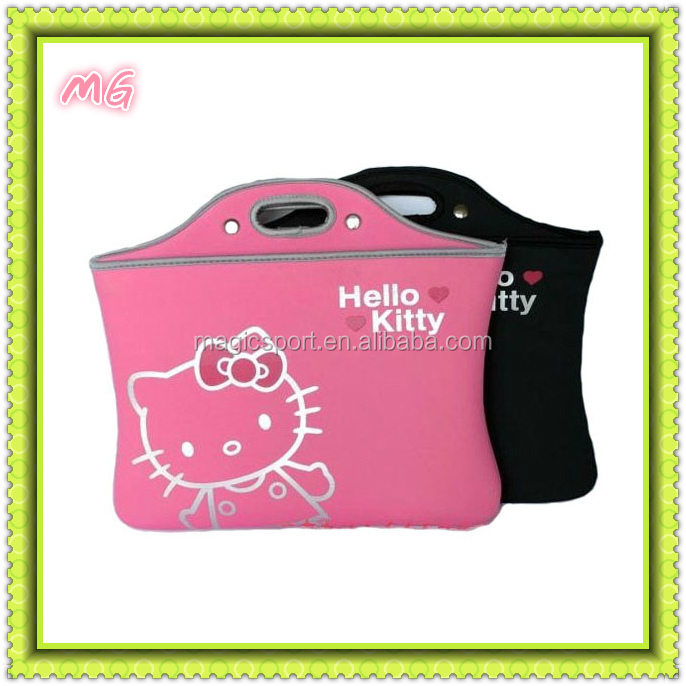popular 15 inch neoprene laptop sleeve with handle