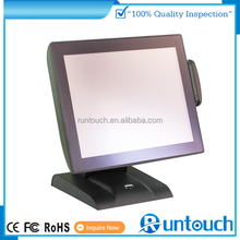 Runtouch Lottery EPOS Machine gprs/sms pos system (two display)