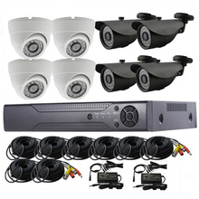 2017 best sale 720p 960p 1080p 8chs ahd security camera kits system