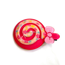 Fancy baby hair clips uk, baby plastic hair clips, bling bling hair accessories