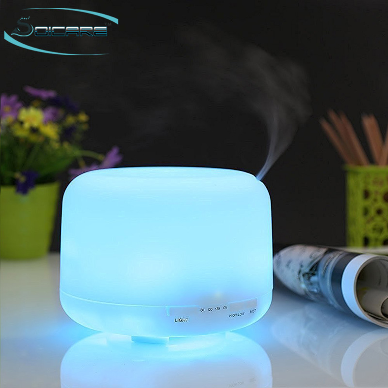 Easy cleaning ultrasonic warm mist super air humidifier for baby room