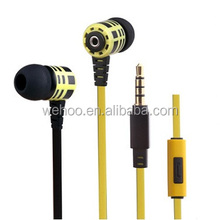 High quality powerful bass driven headphone stereo sound earphone