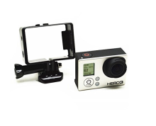 Wholesale gopro Standard Frame with Button Assorted Mounting Hardware for Go pro 1 2 3 3+ 4