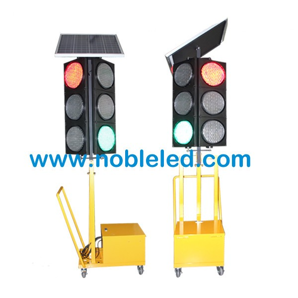 200mm 4 aspect mobile portable traffic light