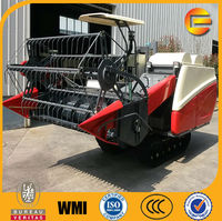 mini reaper binder-combine harvester, wheat rice combine harvester