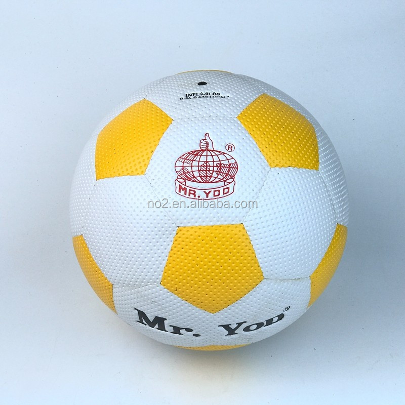 Hot Sale Customize Your Own Cross Stitch PU Foam Leather Soccer Ball With Recyclable Material