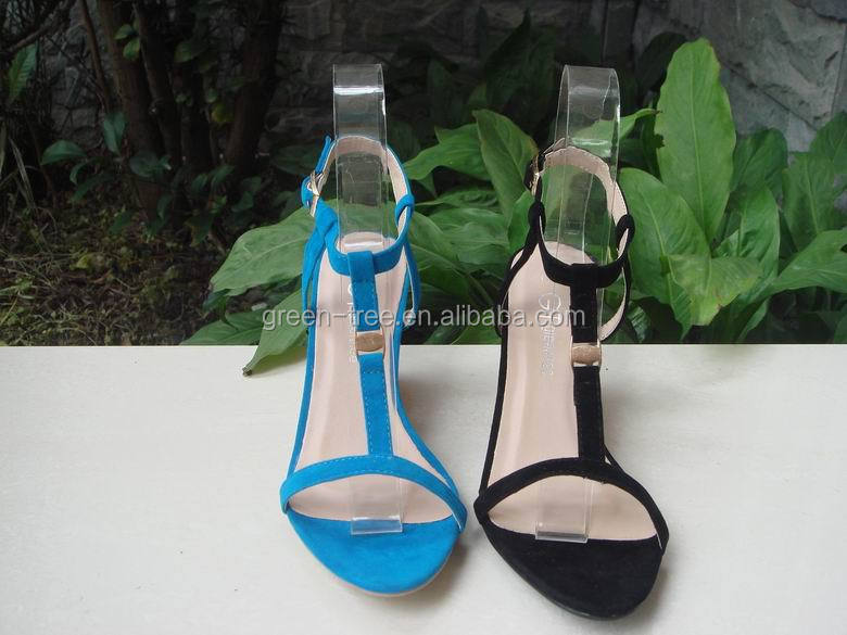 2016 Latest Fashion Ladies Fancy Wedge Sandal Shoes