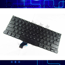 New A1502 Keyboard for Macbook Pro Retina 13.3 inch laptop US keyboard compatible 2013-2015 year