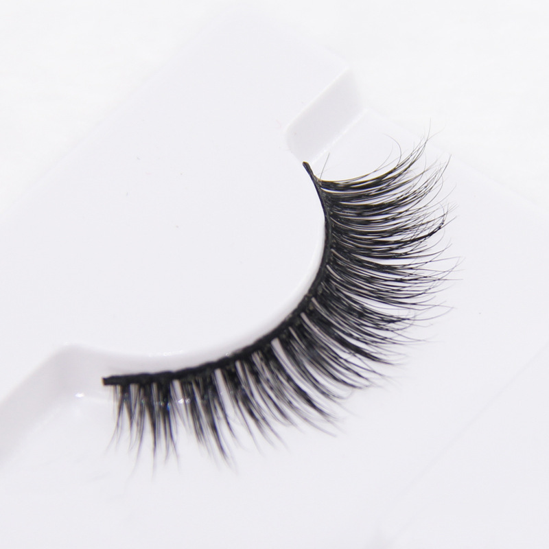 Individual Mink Eyelash Extension Soft Black Fake False Eye Lashes