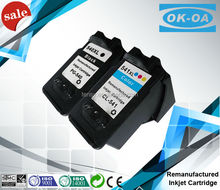 High quality remanufactured ink cartridge for Canon 540 541