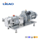 stainless steel sanitary food grade transfer rotary lobe pump