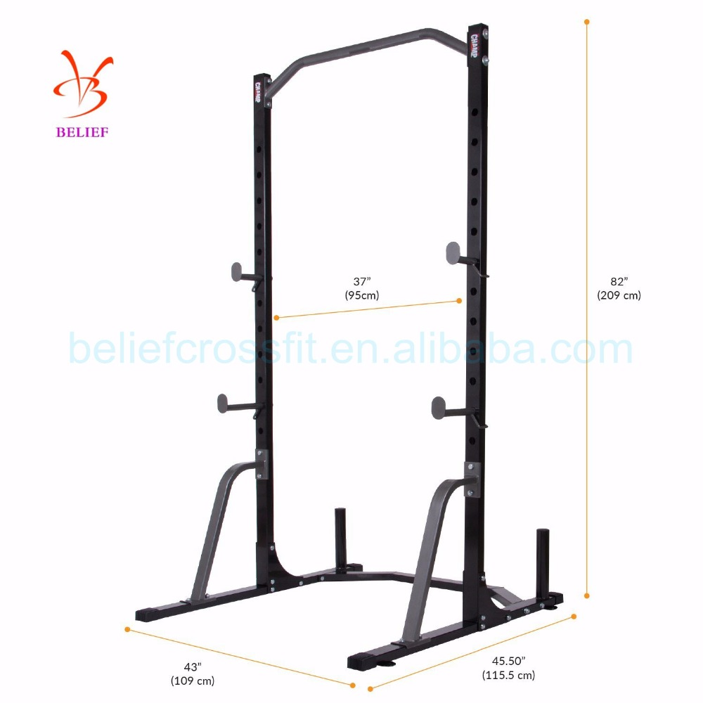Crossfit fitness equipment rig for body building