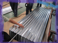 Corrugated galvanized steel plate/sheet