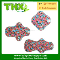 Wholesale Cloth Pads Bamboo Sanitary Napkin Mama Cloth Reusable Menstrual Pads
