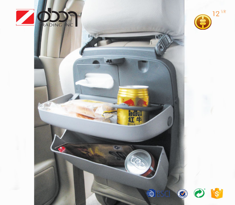 Multifunction car cup holder Folding Plastic Car Tray Table, car Food tray