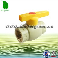 PPR ball valve for pipe usage