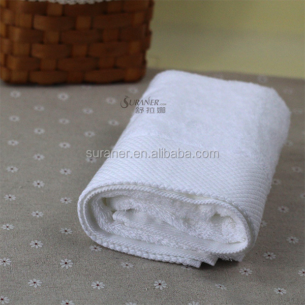 high quality 100% cotton bleach compressed hand towel 2014