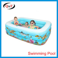 Inflatable swimming pool attract baby comfortable pool