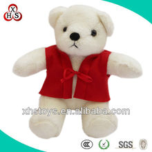 High quality custom pure white teddy bear large size, OEM soft animal toys for sale