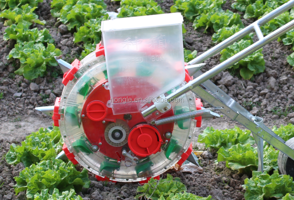 NONGLE Multi-function hand push corn seeder/manual grain planting machine