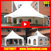 3x3m 4x4m 5x5m 6x6m hexagon and square Pinnacle tent garden gazebo tent