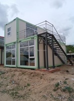 Easy And Quick Assembly Commercial Steady Real Estate 40Ft Container House