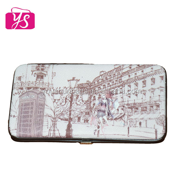China newstyle leather wallet case for woman