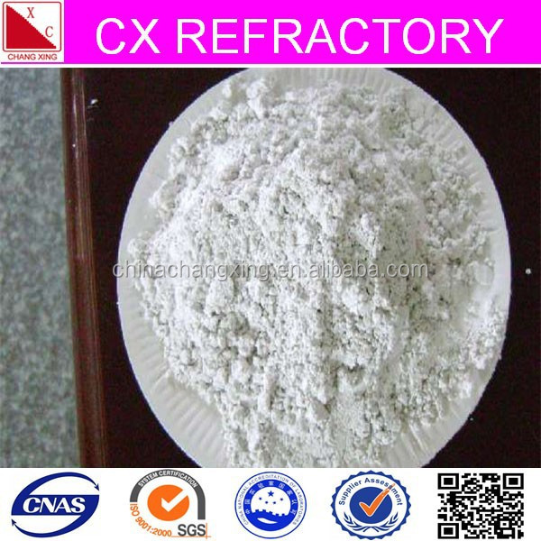 Ceramic used industrial clay