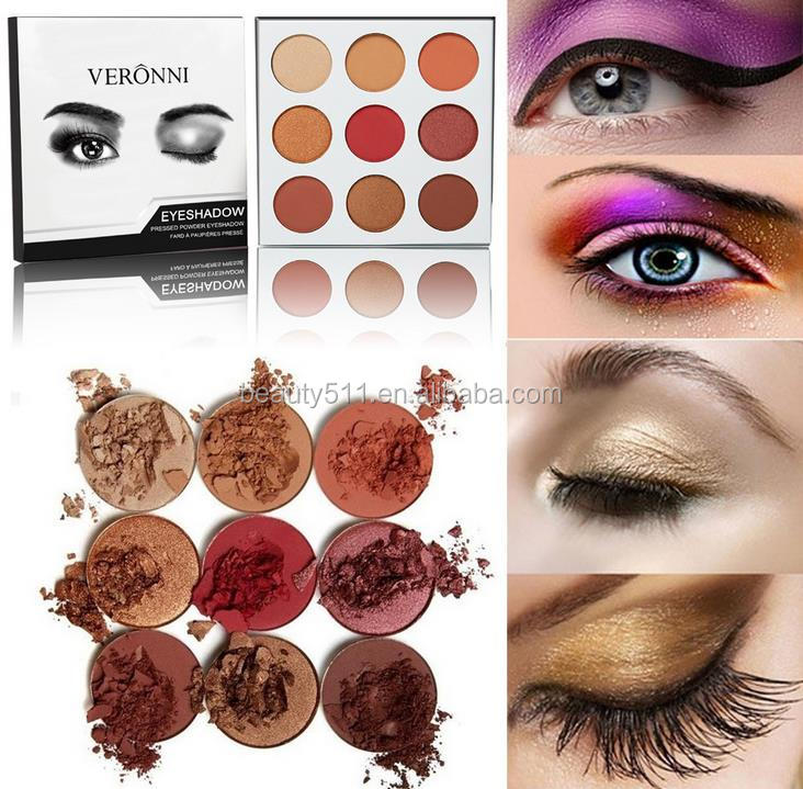 OEM 9colors Multipurpose Long lasting Waterproof Paillette Body Glitter Kohl/Eye shadow powder