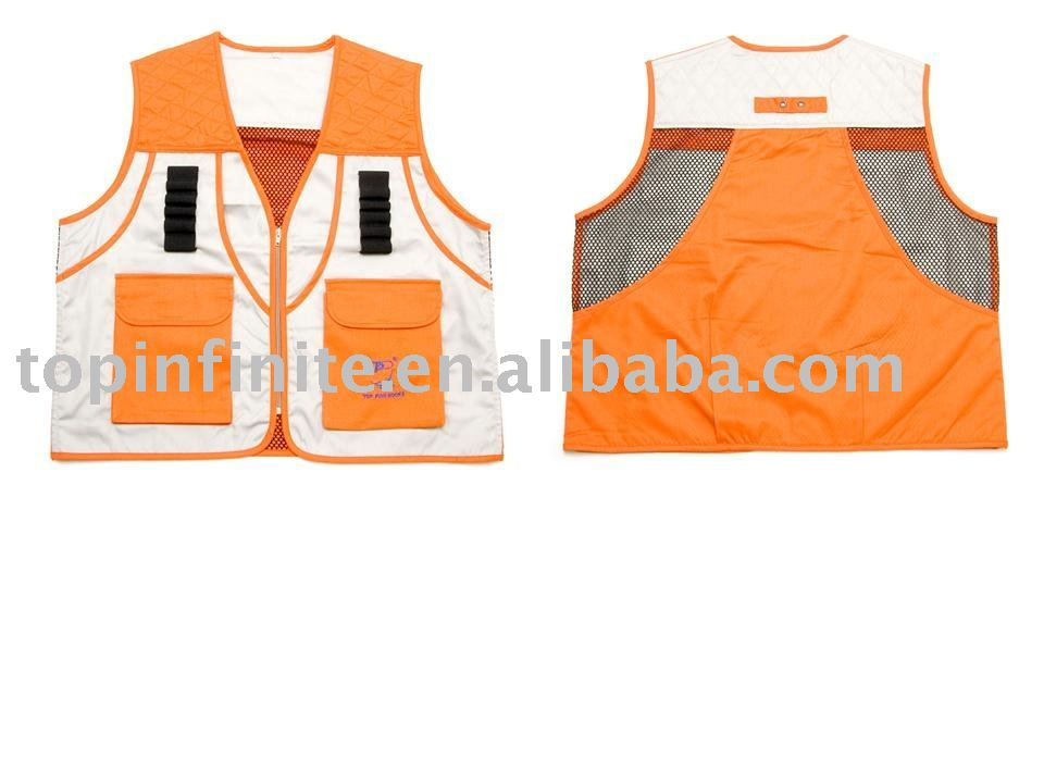 Fishing Vests, life vests, fishing tackle, FV-014