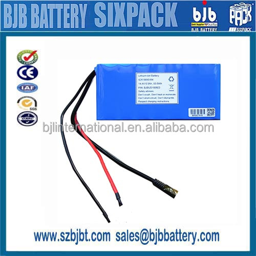 5.6Ah 14.4v li-ion battery for solar emergency light batterie with PCM+BMS