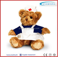 2015 hot uniform nurse teddy bear