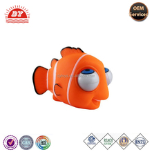 Soft plastic stress reliever toy plastic nemo fish toy