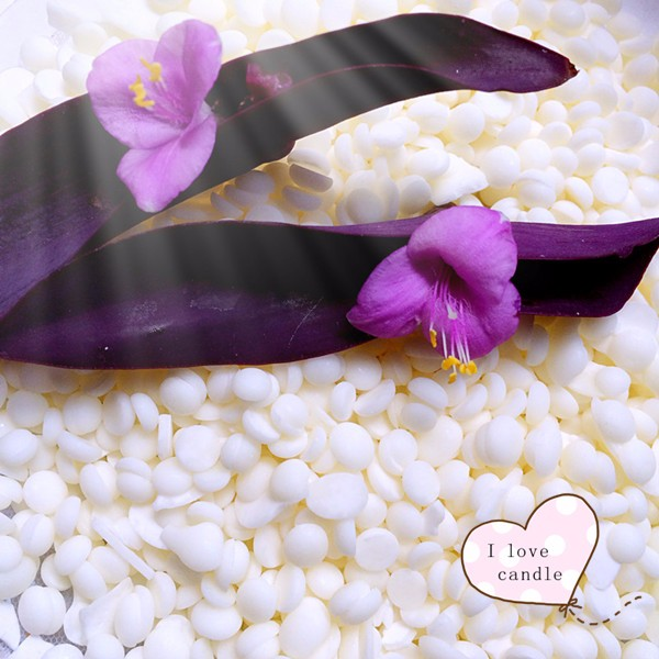100% pure milky high quality flake soy wax