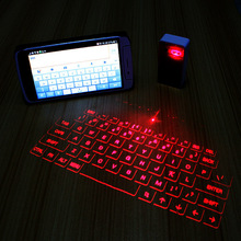 Wireless Bluetooth Virtual Laser Projection Keyboard and Mouse, wireless keyboard for Tablet Laptop Smart Phone PC, UA,French,UK