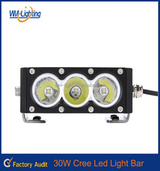 Wholesale motorcycle spare part 30W led bar for mini chopper motorcycle,car