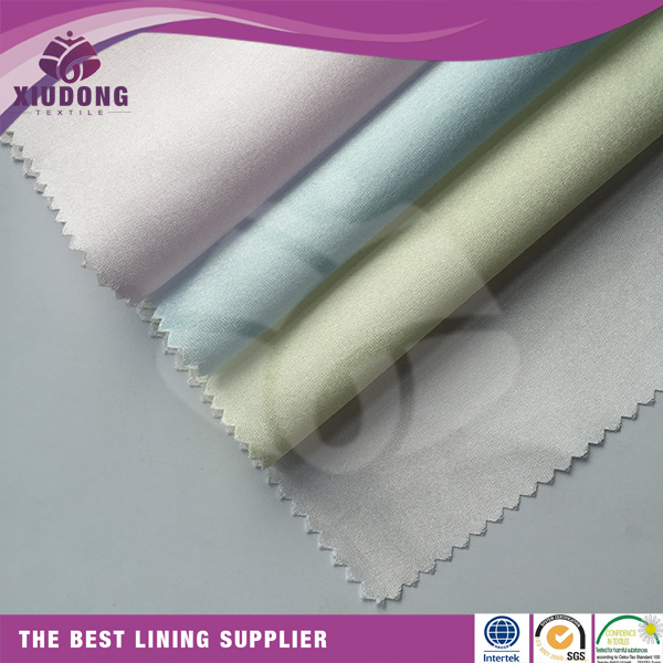 2015 Heavy net lining dull satin fabric for wedding dress, Swatch for bridal satin, Hongway satin ready goods color chart