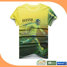 Custom t-shirt for world cup brazil 2014world cup 2014 world cup accessories wholsale on alibaba express