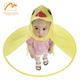 UFO Child Cute Raincoat Rain Poncho
