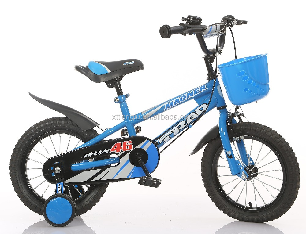 blue Bicycle supplier steel frame children bicycles fat tyre kids bicycle for sale