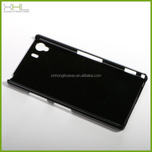 For sony xperia Z1 plastic back case cover, raw blank case cover for sony l39h