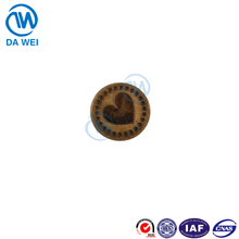 Dawei brand china tack button factory wholesale custom accepted dry cleaning tack for jean metal button