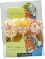 Rabbit, Mouse, Monkey Lollipops