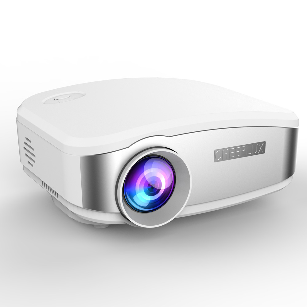 NEW ARRIVAL CHEERLUX MINI PROJECTOR / BEAMER C6 1080P Projetor