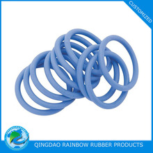 Customized various sizes soft silicone o ring