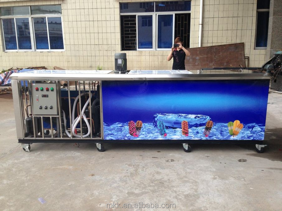 Cheap Price 2 Mould Ice Cream Popsicle Machine(ice Lolly Machine